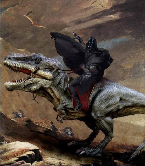 Vader T-Rex